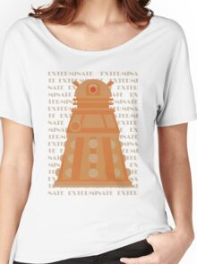Exterminate Orange Women's Relaxed Fit T-Shirt