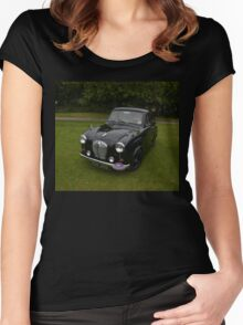 Black Austin A35 Women's Fitted Scoop T-Shirt