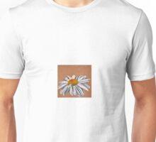 Oil Pastel White Daisy Unisex T-Shirt