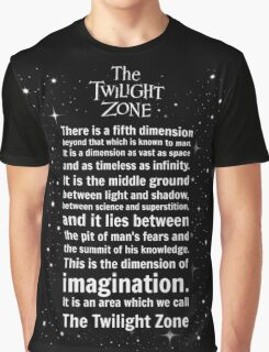 The Twilight Zone Intro Graphic T-Shirt