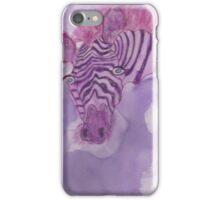 Lonely Zebra!  iPhone Case/Skin