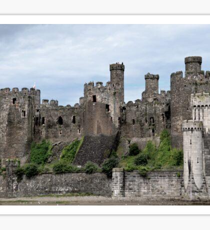 Conwy Castle Sticker