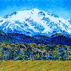 Mt Sopris Colorado by Kathie Nichols