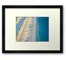 cable beach areall sunset  Framed Print