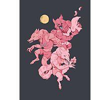 Werewolf sleepover Photographic Print