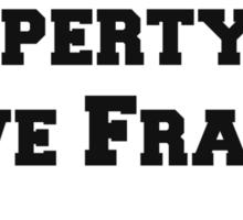 Property of Dave Franco Sticker