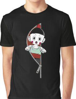 <DRAGON BALL Z> Chaozu Zip Graphic T-Shirt
