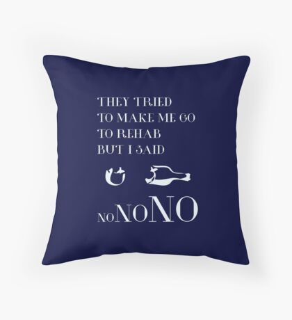 REHAB Throw Pillow