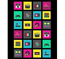 80's Icons Photographic Print