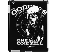 <SWORD ART ONLINE> One Shot One Kill iPad Case/Skin