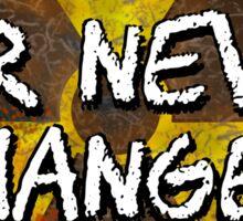 War Never Changes - Radioactive Symbol Sticker