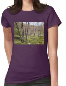 Italian Forest Womens Fitted T-Shirt