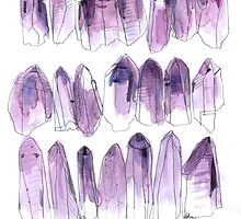 Amethyst - February by Vicky Webb