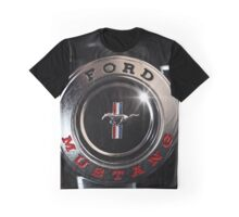 ford mustang, steering wheel Graphic T-Shirt