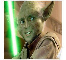 Yoda Cage Poster