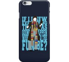 Quotable Who - Fourth Doctor iPhone Case/Skin