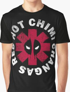 Red Hot Chimi Changas Graphic T-Shirt
