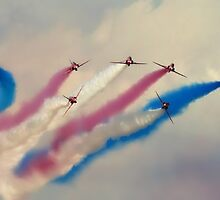 Red Arrows split by Stephen Kane