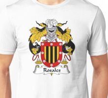Rosales Coat of Arms/Family Crest Unisex T-Shirt