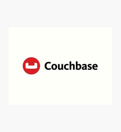 couchbase database nosql programming Art Print