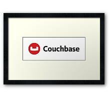 couchbase database nosql programming Framed Print