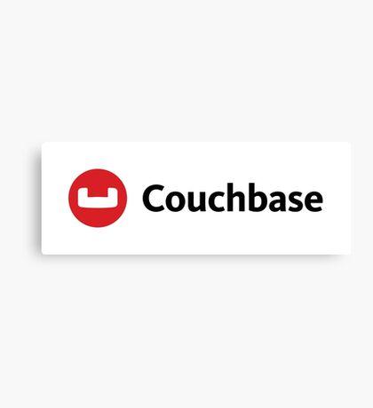couchbase database nosql programming Canvas Print