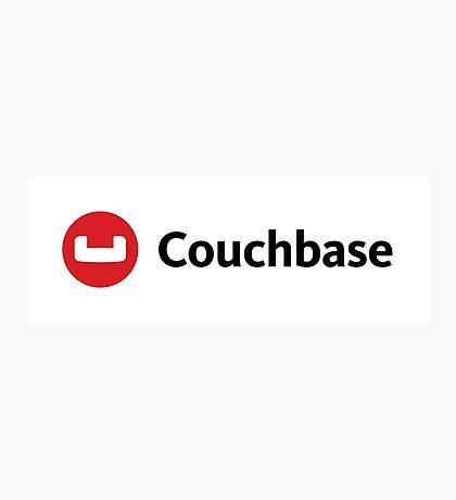 couchbase database nosql programming Photographic Print