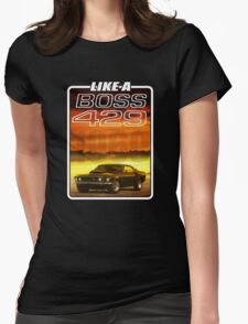 Like a Boss - Sunset Womens Fitted T-Shirt