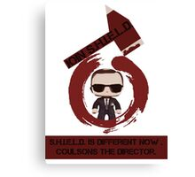 Phil coulson - the director  Canvas Print