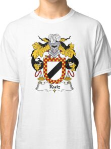 Ruiz Coat of Arms/Family Crest Classic T-Shirt