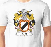 Ruiz Coat of Arms/Family Crest Unisex T-Shirt