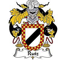 Ruiz Coat of Arms/Family Crest Photographic Print