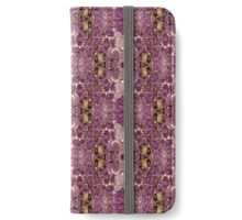 Nature Leaves Pattern iPhone Wallet/Case/Skin