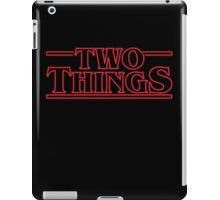 Two Things iPad Case/Skin