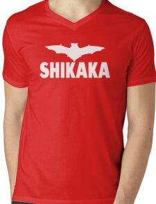 Ace Ventura Quote - Shikaka Mens V-Neck T-Shirt