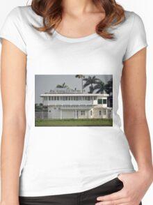 bandung jet terminal Women's Fitted Scoop T-Shirt