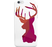 Polygon Blocks Stag iPhone Case/Skin