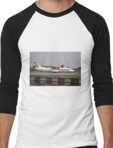 Wings Air airplane Men's Baseball ¾ T-Shirt