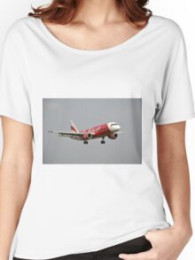 Air Asia airplane Women's Relaxed Fit T-Shirt