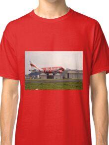 Air Asia airplane Classic T-Shirt