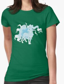 Alola Ninetales T Shirt Womens Fitted T-Shirt