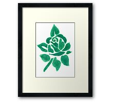 Night shade - Green Framed Print