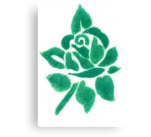 Night shade - Green Canvas Print