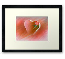 Your Loving Heart Framed Print