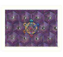 Labyrinths of transformation  Art Print