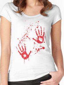 Serial Griller / Killer - Halloween Women's Fitted Scoop T-Shirt