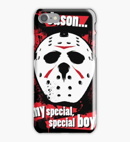 Jason... my special, special boy! iPhone Case/Skin