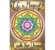 Life is Magical Photographic Print