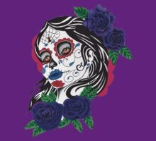day of the dead girl by Seymour  Art