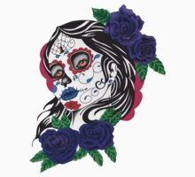 day of the dead girl Kids Clothes